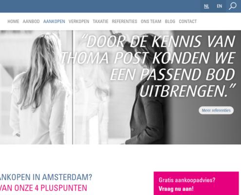 Thoma Post Amsterdam - Aankoopmakelaar